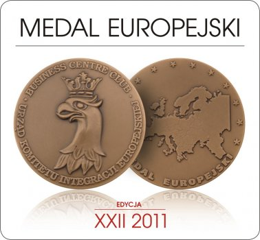 European medal 22nd edition 2011
